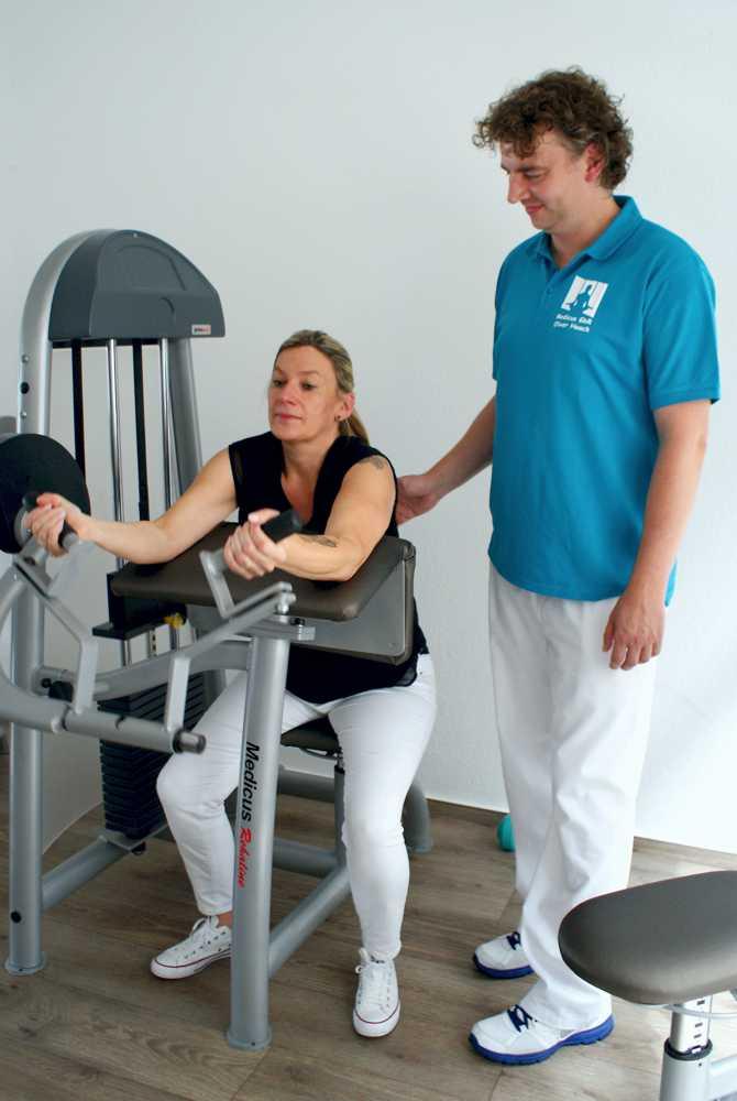 Krankengymnastik am Gerät - Physiotherapie Medicus GbR Goslar